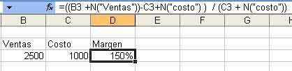 Como agregar comentarios en fórmulas