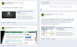Ahora puedes seguir a Excel facil para mi, en facebook