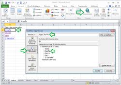 Tabla de contenidos en Excel